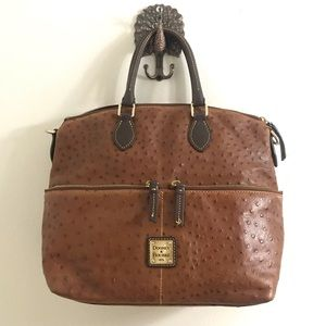 Authentic dooney and bourke Ostrich satchel